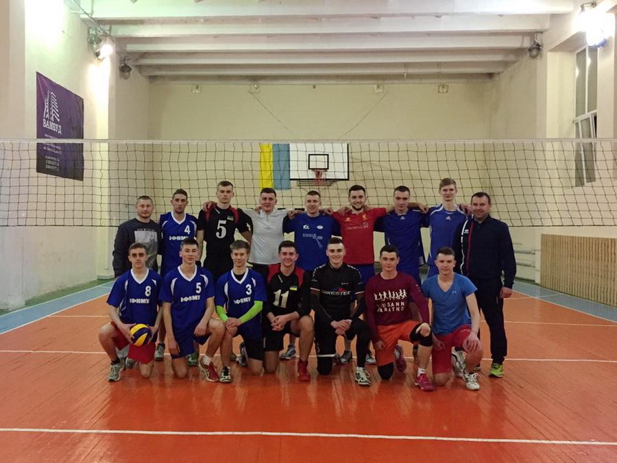 Студенти двох франківських вишів провели змагання з волейболу