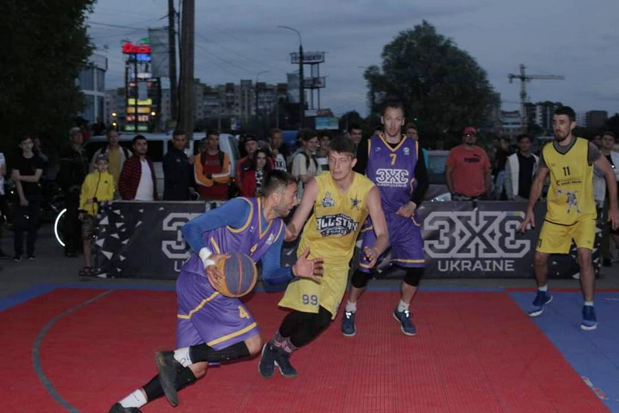 Франківські студенти здобули перемоги на турнірах з баскетболу 3х3